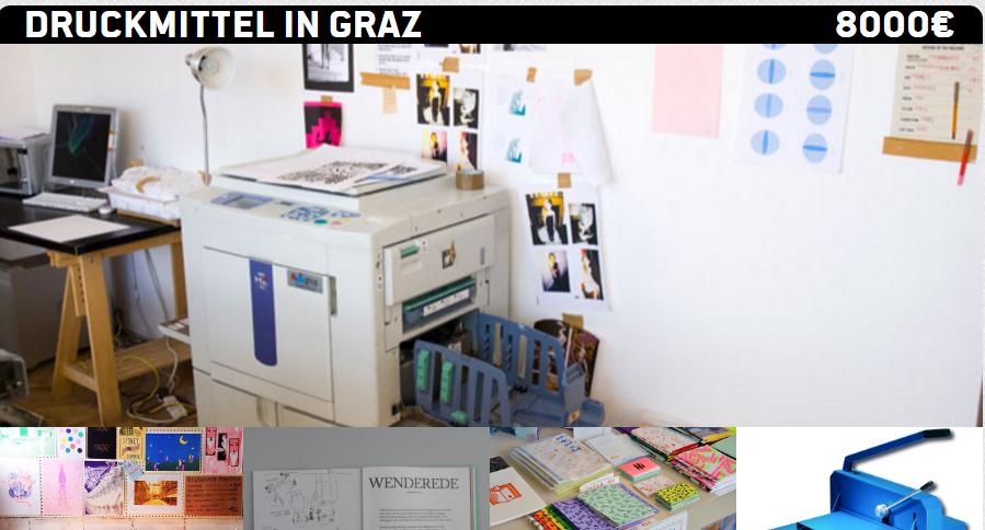 Druckmittel für Graz